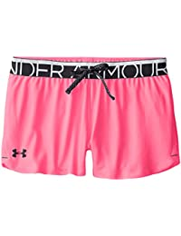 Under Armour Girls Play Up Short Fille