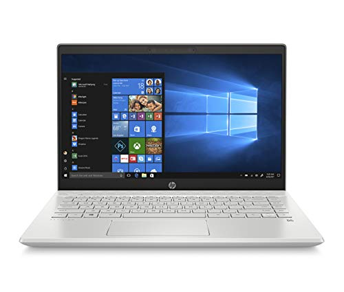 HP Pavilion 14-ce2014ns - Ordenador portátil de 14' FullHD (Intel Core i5-8265U, 8GB RAM, 256GB SSD, Nvidia GeForce MX130-2GB, Windows 10) plata - Teclado QWERTY Español