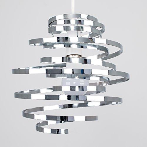 Pantalla para lámpara de techo con diseño en espiral marca MiniSun