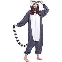 DELEY Unisexo Adulto Caliente Animal Kigurumi Pijamas Cosplay Disfraz Homewear Mamelucos Ropa De Dormir