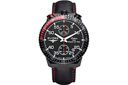 Elysee Mens Watch Graf Berghe von Trips Rally Timer I Chronograph 80522