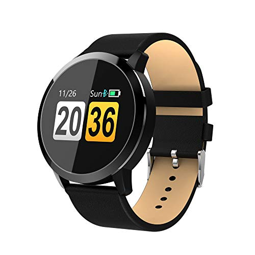Lbyhning Bluetooth Smart Watch Fitness Tracker Wasserdichter Schlaf & Blutdruck Sauerstoffmonitor Kalorien Schritt Zähler Anrufe SMS Erinnern - Kalorien Zähler-monitor