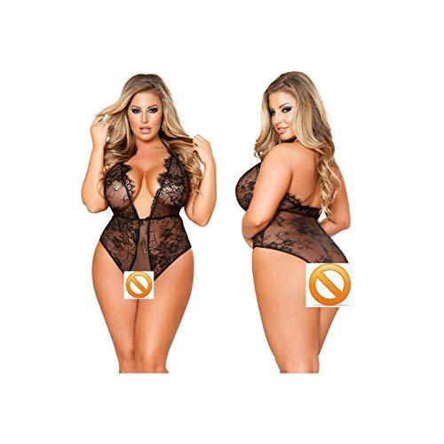 75e4d2ad2088c9 Women Lace Black Porno Girl Lingerie Increase Plus Size 4XL 5XL 6XL Female  Sexy Underwear Lingerie Intimate Sexy Costumes Erotic XXL 6XL