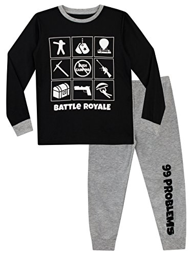 Pijama para Niños Gaming Battle Royale Multicolor