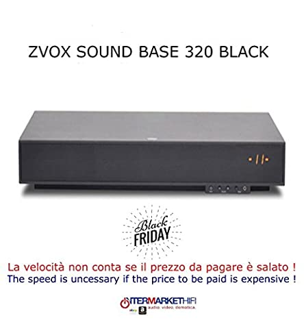 Zvox z-base 320 black Sound Bar – For Home Theater
