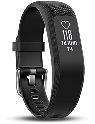 Garmin VivoSmart 3 Fitness Tracker con sensor Cardio en la pulsera, Negro