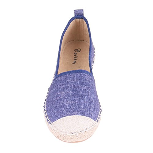 CATISA-bal3_fd188, Ballerine donna Blu (blu)