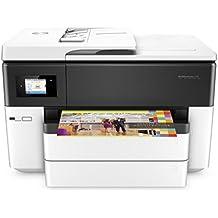 HP OfficeJet Pro 7740 - Impresora multifunción de gran formato (A3, velocidad imprimir blanco y negro 22 ppm, velocidad imprimir color 18 ppm)