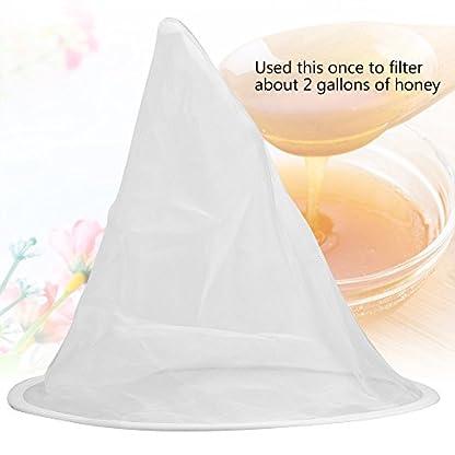 Beekeeping Honey Strainer Filter Net Honey Apiary Equipment White 9