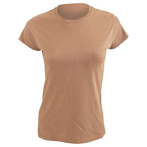 T-shirt à manches courtes Gildan pour femme Orange