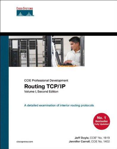 Routing TCP/IP, Volume 1: v. 1 (CCIE Professional Development Routing TCP/IP) por Jeff Doyle