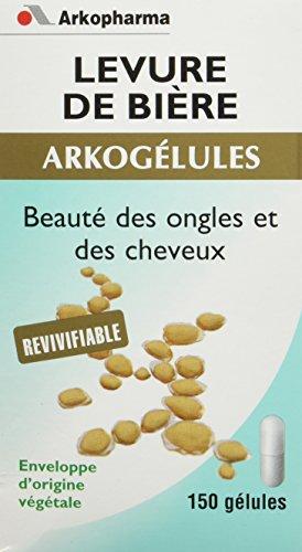 Arkopharma Phytothérapie Cure Arkogélules Levure de Bière Revivifiable Flacon de 150 Gélules