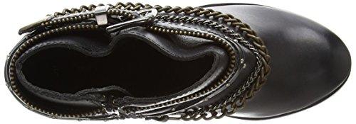 New Look Crowded - Lea Chain Western, Stivali donna Nero (Black (1/Black))