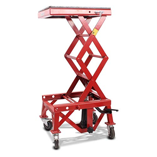 Pont Elevateur Hydraulique ConStands Moto Cross Mover Lift XL rouge Gas Gas SM 50/125/ 250