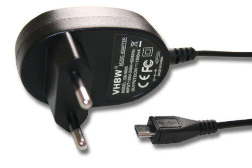 LADEGERÄT NETZTEIL LADEKABEL mit MICRO-USB-Anschluss passend u.a. für die Modelle ALCATEL One Touch OT-217D, OT-536, OT-602D, OT-668, OT-706 etc.