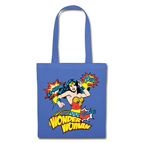 Spreadshirt DC Comics Wonder Woman Rétro Onomatopées Tote Bag