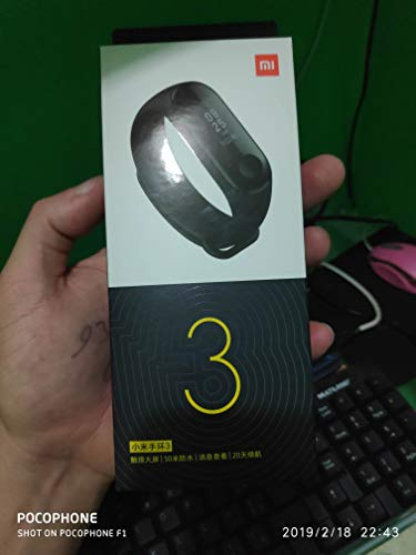 Bracelet de Fitness connecté Xiamoi mi Band 3, avec cardiofréquencemètre