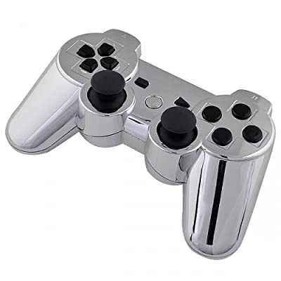 Playstation 3 Controller - Chrome with Black Buttons - Official Sony Dualshock 3