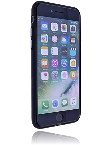 Apple iPhone 7 Hülle Design Silikon Schutzhülle inkl. GRATIS Panzerglas | Handyhülle | Bumper | Cover | Case | Tasche | Hülle aus bruchfestem Verbundstoff #RM-273 RM-275