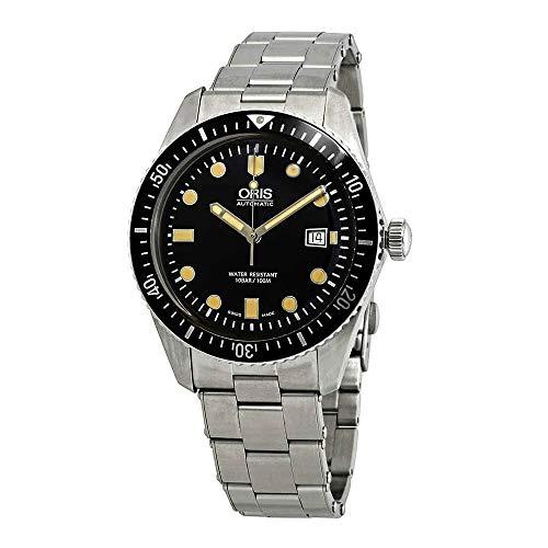 Oris Divers Sixty-Five, orologio automatico da uomo con quadrante nero 01 733 7720 4054-07 8 21 18