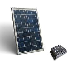 Solar Kit base 20W 12V Placa Solar Fotovoltaico Regulador de Carga 5A PWM