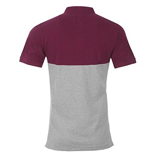 Crew Clothing Herren Poloshirt Crew Numbers Mulberry
