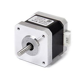 LEORX NEMA 17 2 Phase 4-Draht 1.5A 40 mm 1,8 ° Schrittmotor für 3D Drucker