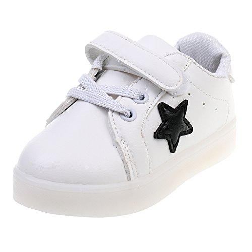1-Par-LED-Zapatillas-De-Deporte-Zapatos-Transpirables-Para-Nios
