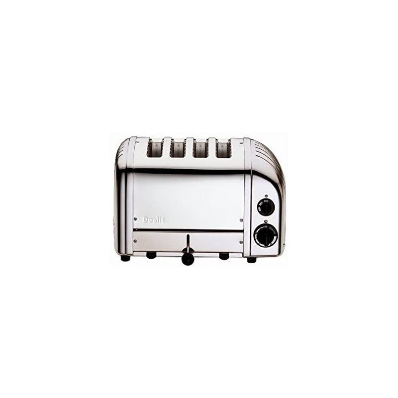 Dualit Toaster 4 Slot Classic Vario Aws Edelstahl Poliert 40378 Britischer Import