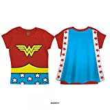 Best Bioworld Capes - Wonder Woman Cape T-shirt pour enfants Rouge Rouge Review