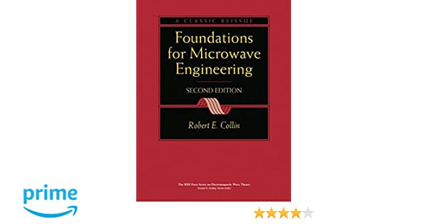 Foundations for microwave engineering amazon robert e collin foundations for microwave engineering amazon robert e collin libri in altre lingue fandeluxe Images