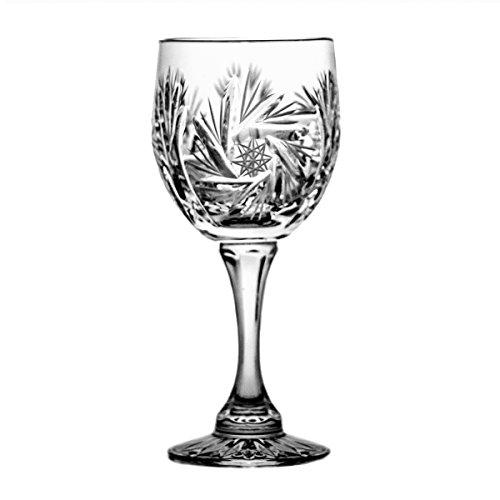 Crystaljulia 0202 Sherryglas, Kristall, 75 ml, 6 x 6 x 12 cm, 6 Einheiten