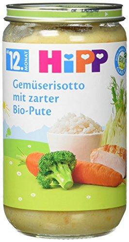 Hipp Gemüserisotto mit zarter Bio-Pute, 250 g