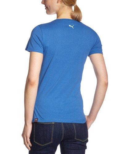 Puma T-shirt Script Lace pour femme bleu