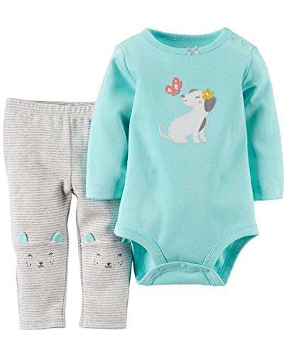 Kidsform Baby Unisex Langearm Body Romper Overalls Outfits Jumpsuits Bekleidung Schmetterling 9M (Schmetterling Outfits Für Babys)