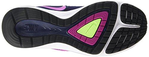 Nike - Dual Fusion X, Pantofole Donna Multicolore - bleu marine/fuchsia/obsidienne (Mid Nvy/Fchs Flsh-Drk Obsdn-Gh)