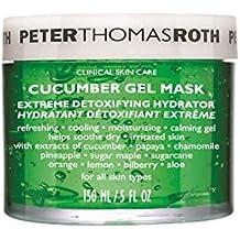 Peter Thomas Roth pepino máscara de Gel (150g), apto para todos los tipos de piel que alivia piel después procedimientos, Pela, y Electrólisis de depilación.