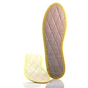 TelMo Zimtsohle Einlegesohle, gegen Fußschweiß und Fußgeruch Gr. 35-48