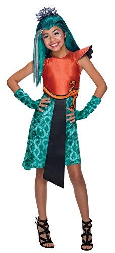 Nefera Monster Nile De Kostüm High - Rubie's Kostüm Monster High Nefera Nil klassischen Mädchen
