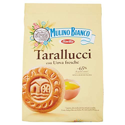 Mulino bianco biscotti frollini tarallucci, colazione ricca di gusto - 800 gr