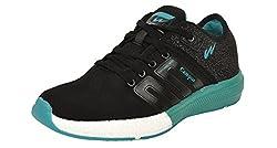 Campus BATTLE Black Running Shoes