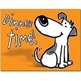 """Cartoon Hund'essen"""" Giant Platzdeckchen aus Kunststoff"""
