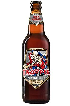 Iron Maiden Trooper Dunkles Bier 24er Pack 24 X 033 L