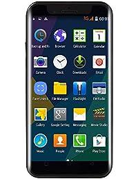 EUCoo Smartphone 5.0 Pollici Dual HDCamera Memoria estesa da 512M RAM + 4G Rom 32G Android 6.0 Telefono Cellulare