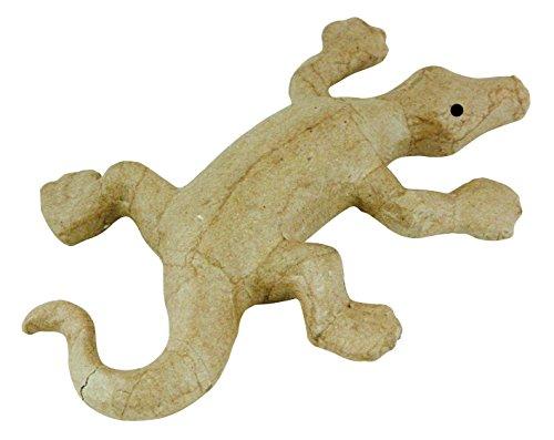 Décopatch AP116O Träger XS aus Pappmaché, mini Salamander, 17,5 x 11,5 x 2,8 cm, zum Verzieren