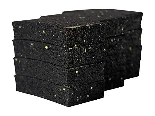 12 Stück 20 mm Terrassenpad, Terrassenpads, Gummigranulat, Terrassenbau