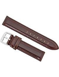 Daniel Wellington - 0811DW - Bristol - Bracelet de Montre Mixte - Cuir Marron