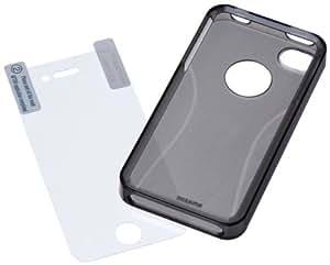 AmazonBasics Schutzhülle für Apple iPhone 4 und 4S grau