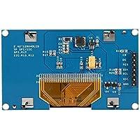 "Lorenlli 2.42""128 x 64 OLED Display Module Azul/Amarillo-Azul/Blanco OLED Display Module IIC I2C Serial Peripheral Interface para UNO R3"