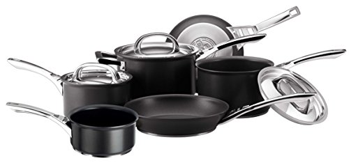 circulon-infinite-hard-anodised-cookware-set-with-milkpan-6-piece-black